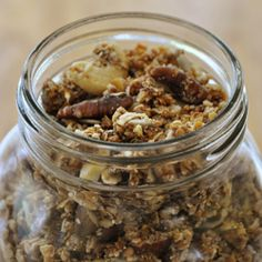 Easy homemade granola!