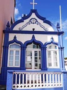 A capela da Praia da Vitória. Ilha Terceira, Açores.