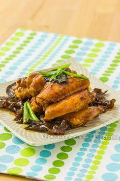 蠔油燜雞翼 Braised Chicken Wings in Oyster Sauce01
