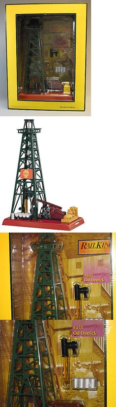 Other O Scale 485: Mth Railking #455 Oil Derrick Shell O Gauge Train Drilling Rig Head 30-90033 New -> BUY IT NOW ONLY: $118.84 on eBay!