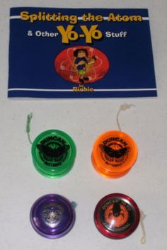 some good 'ol duncan yo-yos