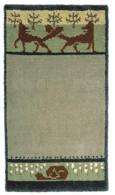 ~ Hilda Sjöblom, 1900-luvun alku Rya Rug, Floor Art, Rug Hooking, Needlepoint, Bohemian Rug, Art Deco, Textiles, Flooring, Rugs