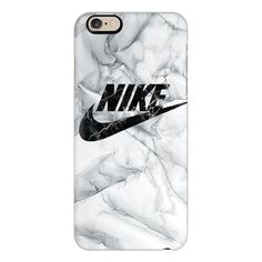 WHITE MARBLE NIKE - iPhone 6s Case,iPhone 6 Case,iPhone 6s Plus... (53 CAD) ❤…
