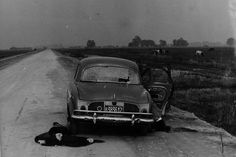 A woman killed by paramilitary forces outside of La Plata, Argentina, in the Buenos Aires Province in the early 1970s during Operation Condor