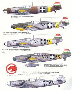 Hungarian Messerschmitt Bf-109.