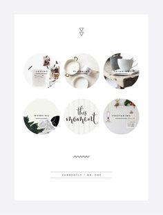 Circle photographs and minimal background Blog   Irene Victoria   Toronto Freelance Graphic Designer