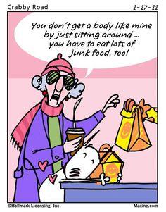 junk food...