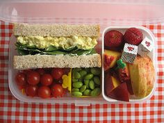 Lunch 08.06.07 | Sandwich day. I love the bento, but not the… | Flickr