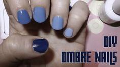 TUTORIAL: Ombre Nail Manicure