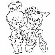 19 The Flintstones printable coloring pages for kids. Find on coloring-book thousands of coloring pages. Cartoon Coloring Pages, Disney Coloring Pages, Coloring Book Pages, Printable Coloring Pages, Coloring Pages For Kids, Cartoon Art, Kids Coloring, Coloring Sheets, Pebbles And Bam Bam