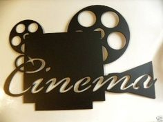 cinema wall decor - Home Cinema Decor