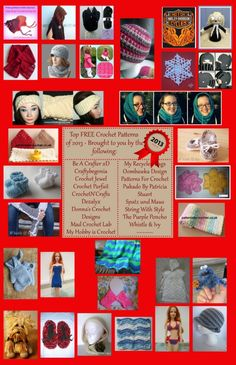 Top FREE Crochet Patterns of 2013 - by Indie Designers