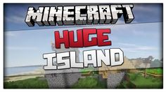 Minecraft 1.8.1 Seed - HUGE ISLAND WITH NPC VILLAGE! Minecraft 1.8 and 1...