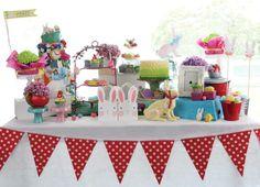 Alice in Wonderland Easter spread - Belle's Patisserie Easter 2014, Alice In Wonderland, Table Decorations, Baking, Sweet, Food, Home Decor, Homemade Home Decor, Patisserie