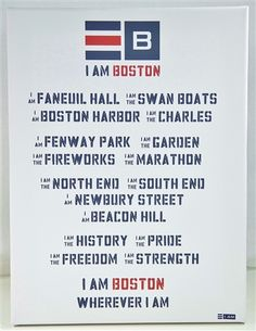 Has a love one moved from Boston and you want to remind them they are Boston no matter where they are? This is a perfect gift!