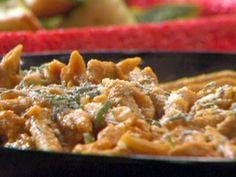 Penne-Wise Pumpkin Pasta Recipe : Rachael Ray : Food Network