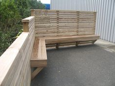 Fence and bench seat