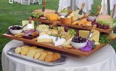 candy bar salado de quesos y otros snacks