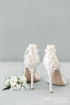 Wedding Shoes Heels, Bride Shoes, Bridal Heels, Wedding Shoes Bride, Wedding Makeup, Designer Wedding Shoes, White Wedding Shoes, Ivory Wedding, Wedding Day