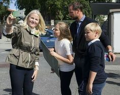 The Norwegian Crown Princely family visited the Passion for Ocean Festival