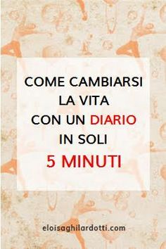 Come cambiarsi la vita con un diario in soli 5 minuti How to change your life with a diary in just 5 minutes Agenda Organizer, Journal Writing Prompts, Miracle Morning, Journal Template, Emotional Intelligence, Life Planner, Self Improvement, Happy Life, Mindfulness