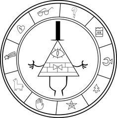 Gravity Falls Symbol Mysteries by vacachonda on DeviantArt – Cartoon Ideas Gravity Falls Bill Cipher, Gravity Falls Simbolos, Gravity Falls T Shirt, Gravity Falls Journal, Cool Tattoos, Tatoos, Fall Drawings, Cartoon Drawings, Adventure Time Wallpaper