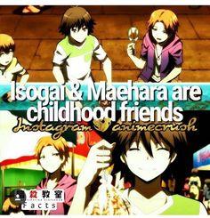 Maybe thats where the ship came from Karma Kun, Nagisa And Karma, Anime Life, All Anime, Koro Sensei Quest, Classroom Memes, Nagisa Shiota, Fun Facts, Random Facts