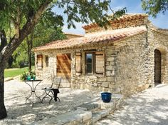 La terrasse de la location de vacances Mas à Le Castellet