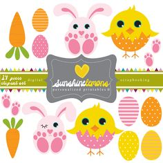 Easter animals clipart - ClipartFest