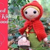 Crochet Red Riding Hood amigurumi doll - via @Craftsy