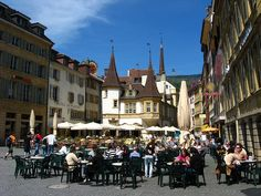 Neuchatel, Switzerland - Not only traveled here...we were lucky to live here for awhile!