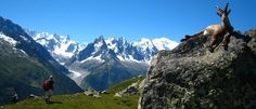 Tour du Mont Blanc – France, Italy and Switzerland: This three-country, 105-mile hike circles the 15,770-foot Mont Blanc Massif, the highest peak in Western Europe. One of the most popular long-distance walking trails, the Tour du Mont Blanc takes hikers through mountain passes, snowfields, lush forests, glacial valleys and secluded Alpine villages over a span of about 10 days.