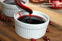 Will Cook For Smiles: Homemade Pomegranate Syrup {recipe}