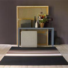 Horizon rug, black/reddish brown | Rugs | Textiles & Rugs | Shop | Skandium