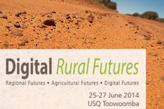 Register for the Digital Rural Futures Conference 2014.