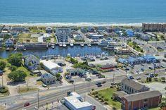 Carolina Beach Yacht Basin and Marina Carolina Beach Boardwalk, Beach Chairs, Basin, Dolores Park, Island, Vacation, Travel, Vacations, Viajes
