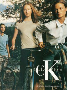 Maggie Rizer & Carolyn Murphy for Calvin Klein, by Steven Meisel, 1998