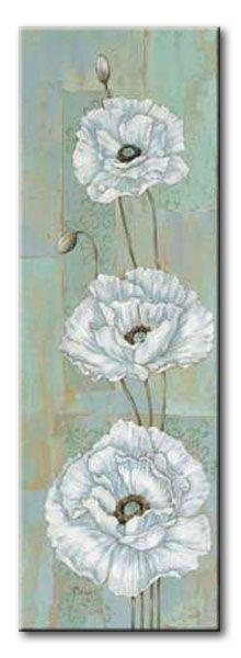 BNT_155_Florentine Poppies / Cuadro Flores Vintage