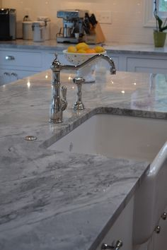 Granite countertops hold their value and their beauty for a very long time.  Photo from imperialhomecenter.com
