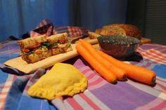 Berlin Brotbox: Box No 34 Roast Chicken Sandwich mit Rucola und To...