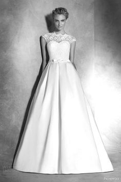 Atelier Pronovias 2016 Haute Couture Wedding Dresses | Wedding Inspirasi