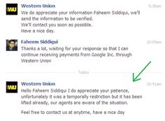 Google Payments Ban by Western Union has been lifted | Free Downloads