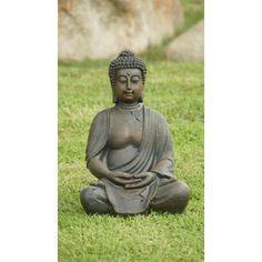 Found it at Joss & Main - Sitting Buddha Statue
