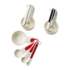 STÄM Set of 4 measuring cups - IKEA 3SR
