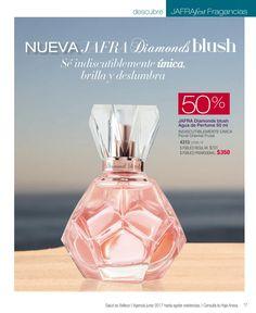 Agua de Perfume Jafra Diamonds blush. #JafraMexico