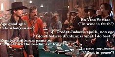 """Tombstone """"Evidently Mr Ringo is an educated man. Now I really hate him. Best Action Movies, Great Movies, Tombstone Quotes, Tombstone 1993, Doc Holliday Tombstone, Val Kilmer, Favorite Movie Quotes, Holiday Movie, Cinema"""