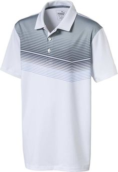 Sport Wear, Sport T Shirt, Puma Original, Black Polo Shirt, Golf Accessories, Polo Shirts, Boys, Clothing, Sports