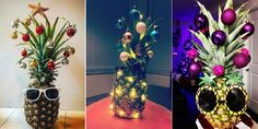 """Pineapple """"Christmas Trees"""" Are Our Favorite New Way to Celebrate This Season"""