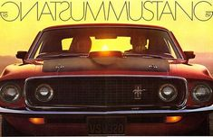 1969 Mustang Brochure (by Light Collector) Ford Mustang 1969, Red Mustang, Mustang Mach 1, Ford Gt, Pony Car, Cool Motorcycles, Us Cars, Ford Motor Company, American Muscle Cars