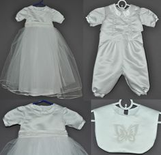 Christening gown from wedding dress